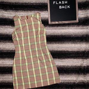 Vintage Retro Mini Dress